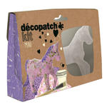 Decopatch Mini-Set, Pferd, lila,  13,5 cm