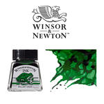 Windsor & Newton Tusche 14 ml, Dunkelgr�n