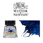 Windsor & Newton Tusche 14 ml, Ultramarinblau