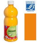 SALE Schulmalfarbe/ Gouache 1000 ml, Orange