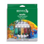 Reeves Acrylfarben-Set 18 Tuben à 10ml