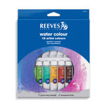 Reeves Aquarellfarben-Sortiment, 18x10ml