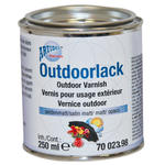 Outdoorlack farblos, seidenmatt, 250ml