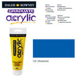 SALE Acrylic Acrylfarbe, 120ml, Ultramarine