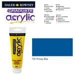 SALE Acrylic Acrylfarbe, 120ml, Primary Blue