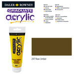 SALE Acrylic Acrylfarbe, 120ml, Raw Umber