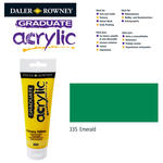 SALE Acrylic Acrylfarbe, 120ml, Emerald