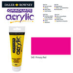 SALE Acrylic Acrylfarbe, 120ml, Primary Red