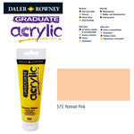 SALE Acrylic Acrylfarbe, 120ml, Portrait Pink