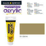 Acrylic Acrylfarbe, 120ml, Gold