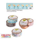Washi Tape Klebeband, HOTFOIL Flamingo