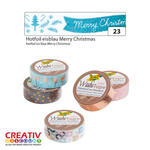 NEU Washi Tape Klebeband, HOTFOIL Merry Christmas