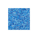 Rocailles - transparent, 20g, 2,5mm, Blau