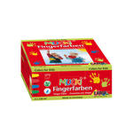 MUCKI Fingerfarben 4er Set  150 ml