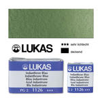 SALE Lukas Aquarell 1862, 1/1 Näpfchen Chromoxid stumpf