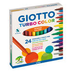 Lyra Giotto Filzstifte Turbo Color 24er-Set