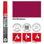 NEU Marabu Porzellan & Glas Stift, 0,8mm, Bordeaux