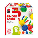 NEU Marabu Kids Fingerfarbe 4x 100ml