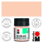 Marabu Decorlack 50ml Hautfarbe