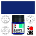 Marabu Decorlack 50ml Ultramarinbl. dkl.