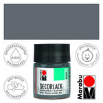 Marabu Decorlack 50ml Grau