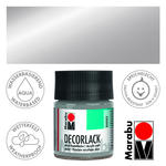 Marabu Decorlack 50ml Metallic-Silber