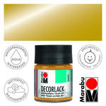 Marabu Decorlack 50ml Metallic-Gold