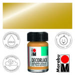 Marabu Decorlack 15ml Metallic-Gold