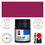 Marabu GlasArt, 50 ml Glas, Bordeaux