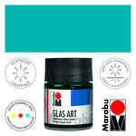 Marabu GlasArt, 50 ml Glas, Türkisblau