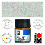 SALE Marabu GlasArt, 50 ml Glas, Glitter irisierend