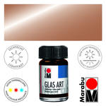 SALE Marabu GlasArt, 15 ml Glas, Metallic Kupfer