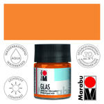 Marabu-Glas Malfarbe, 50ml, Orange