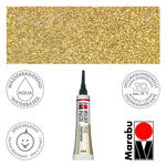 Marabu Relief-Paste Glitter-Gold 20 ml