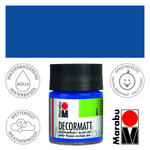 Marabu Decormatt 50ml Ultramarinbl. dkl.