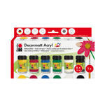 Marabu Decormatt Acryl Start-Set, 6x15ml PREISHIT