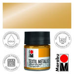 SALE Marabu Textilfarbe, 50ml, Metallic-Gold