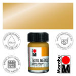 Marabu Textil 15ml Metallic-Gold PREISHIT