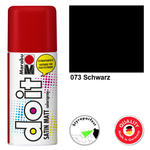 NEU Marabu do it SATIN MATT, 150ml, Schwarz