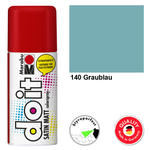 NEU Marabu do it SATIN MATT, 150ml, Graublau