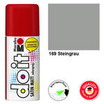 NEU Marabu do it SATIN MATT, 150ml, Steingrau