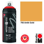 Marabu Artist Spray Paint, 400ml, Antik Gold
