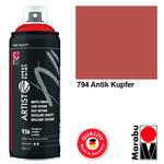 NEU Marabu Artist Spray Paint, 400ml, Antik Kupfer