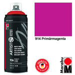 NEU Marabu Artist Spray Paint 400ml, Primärmagenta