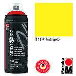 Marabu Artist Spray Paint, 400ml, Primärgelb