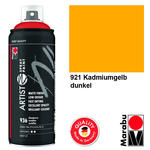 NEU Marabu Artist Spray Paint 400ml, Kad.gelb dkl.