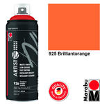 NEU Marabu Artist Spray Paint, 400ml, Brill.orange