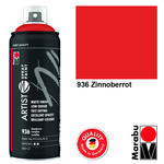 Marabu Artist Spray Paint, 400ml, Zinnoberrot