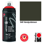 NEU Marabu Artist Spray Paint, 400ml, Vandyckbraun