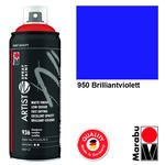 NEU Marabu Artist Spray Paint 400ml, Brill.violett